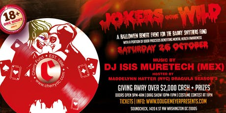 Jokers Gone Wild: Halloween - Avalon Saturdays / Chorus DC / Cherry Fund tickets