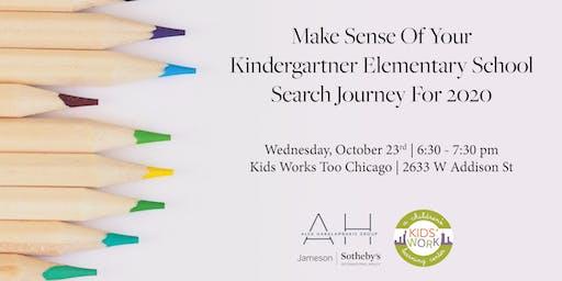 MAKE SENSE OF YOUR KINDERGARTNER ELEMENTARY SCHOOL SEARCH JOURNEY FOR 2020