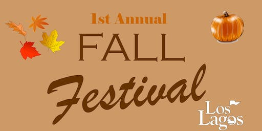 1st Annual Fall Festival