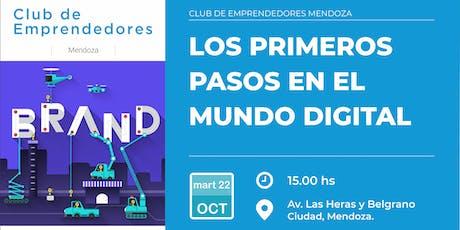 LOS PRIMEROS PASOS EN EL MUNDO DIGITAL tickets