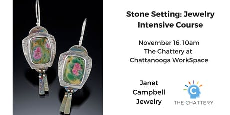 Stone Setting: Jewelry Intensive Course tickets
