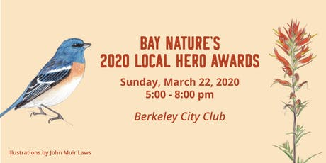Bay Nature's 2020 Local Hero Awards tickets