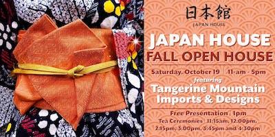 Japan House Fall Open House Tea Ceremonies