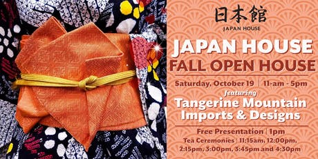 Japan House Fall Open House Tea Ceremonies tickets