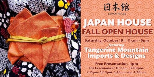 Japan House Fall Open House