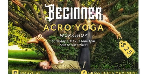Beginner Acro Yoga Workshop