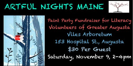 Paint Party FUNdraiser for Literacy Volunteers of Greater Augusta tickets