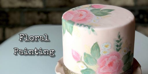 Hand Painted Cake Class - November 3 Morning