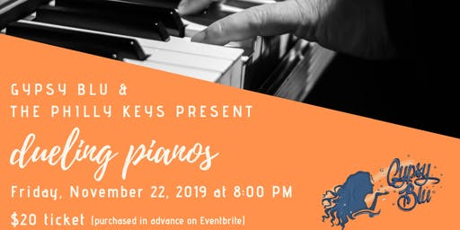 November Dueling Pianos at Gypsy Blu !!