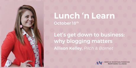 Let's Get Down to Business: Why Blogging Matters tickets