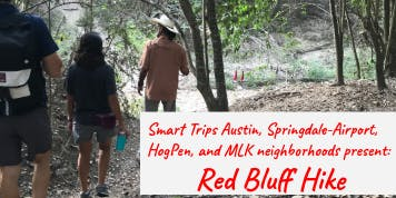 Neighborhood Hike to Red Bluff