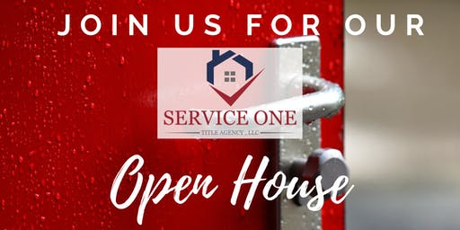 Service One Title Agency Evening Open House