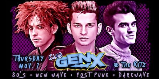 Club Gen X - 80's, New Wave, Post Punk, Darkwave