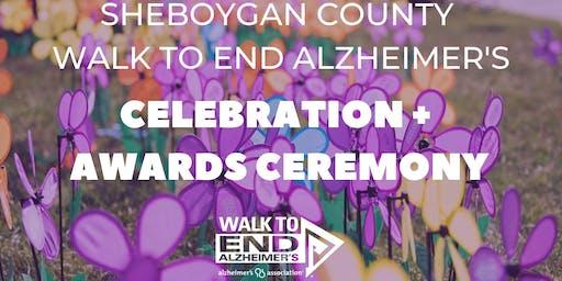 Sheboygan County Walk to End Alz Celebration + Awards Ceremoney