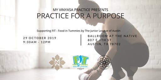 Practice for a Purpose - Benefiting FIT!