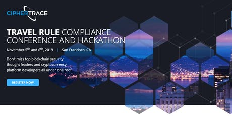Travel Rule Compliance Conference and Hackathon tickets