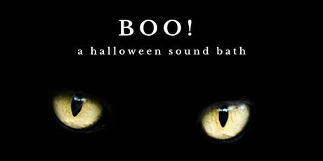 BOO! ~ The Bay Area's Only All GONG Halloween Sound Bath tickets