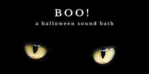 BOO! ~ The Bay Area's Only All GONG Halloween Sound Bath