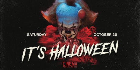IT's Halloween At Cinema tickets