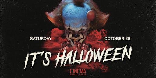 IT's Halloween At Cinema