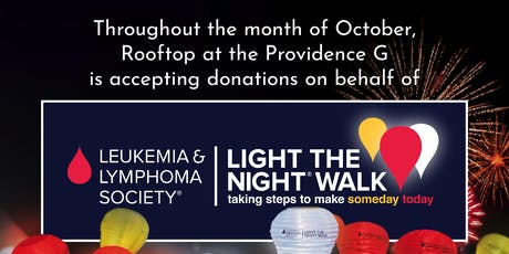 Supporting the Light the Night Walk all October tickets