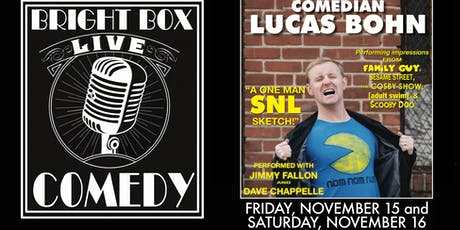 Bright Box Comedy: Lucas Bohn tickets