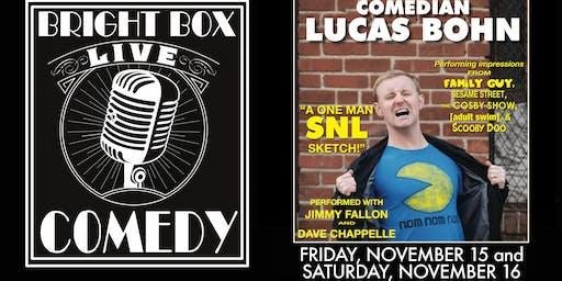 Bright Box Comedy: Lucas Bohn