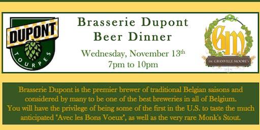 Brasserie Dupont Beer Dinner