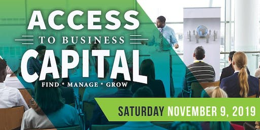 2019 Access to Business Capital Conference!