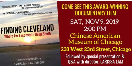 "Screening of ""Finding Cleveland Where Far East Meets Deep South"" tickets"