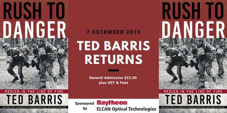 Ted Barris: Rush to Danger tickets