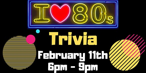 I Love the 80's Trivia Dave and Buster's Myrtle Beach