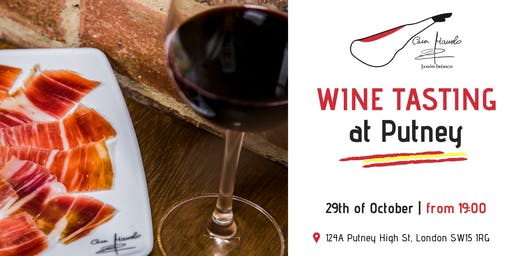 Iberian Cured Meats & Wine Tasting | 29th October