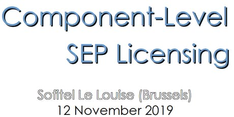 Component-Level SEP Licensing tickets