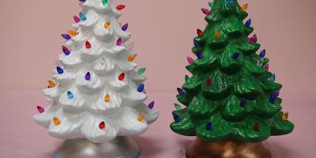 "13"" Lighted Christmas Tree - BYOB tickets"