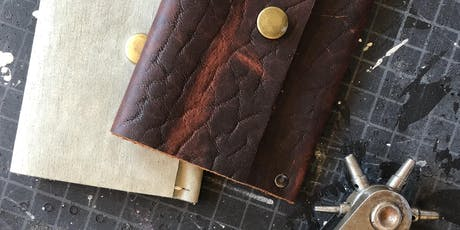 Leather Wallet Making Workshop tickets