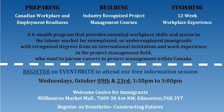 Constructing Futures Program Info Session - WCI Location tickets