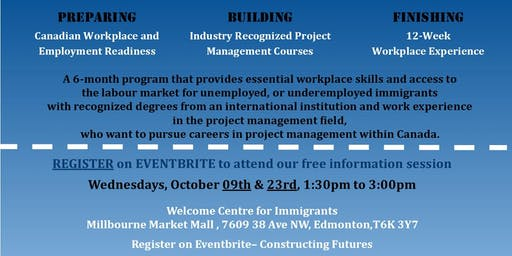 Constructing Futures Program Info Session - WCI Location