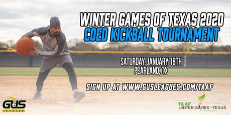 Winter Games of Texas 2020 - Coed Kickball Tournament tickets