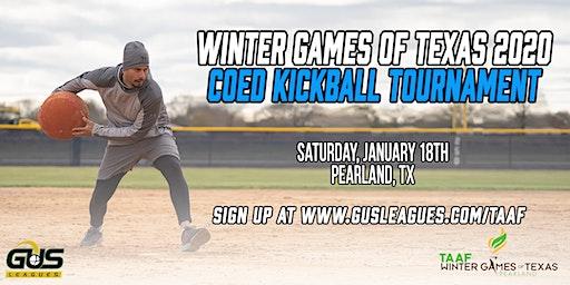 Winter Games of Texas 2020 - Coed Kickball Tournament