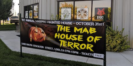 MABPRO Haunted House! tickets