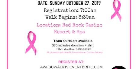 Making Strides Against Breast Cancer Walk 2019 tickets