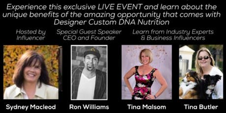 Your Genes and Customized Nutrition with Uforia Science CEO Ron Williams tickets