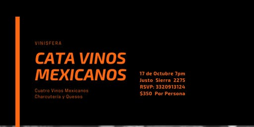 Cata Vinos Mexicanos #1
