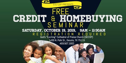 FREE Credit and Homebuying Seminar