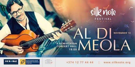 Al Di Meola in Armenia tickets