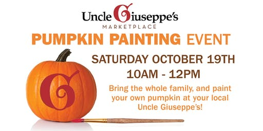 Pumpkin Painting at Uncle Giuseppe's Port Jefferson