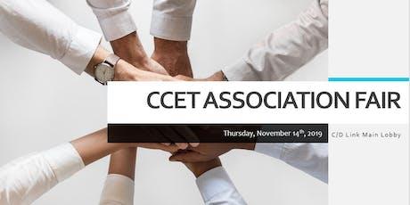 CCET Association Fair 2019 tickets