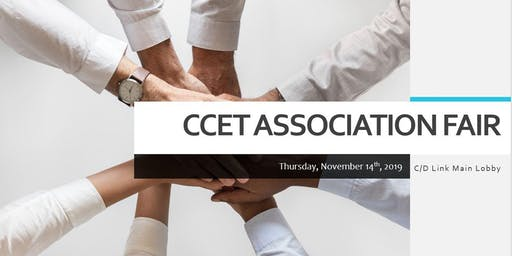 CCET Association Fair 2019