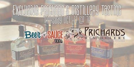 Exclusive Prichard's Distillery Tasting tickets